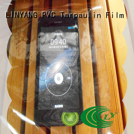 transparent clear pvc film waterproof customized for agriculture