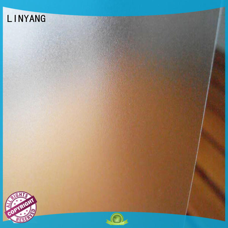 LINYANG translucent Translucent PVC Film from China for plastic tablecloth