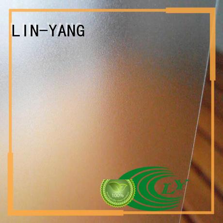 pvc films for sale waterproof LIN-YANG Brand Translucent PVC Film
