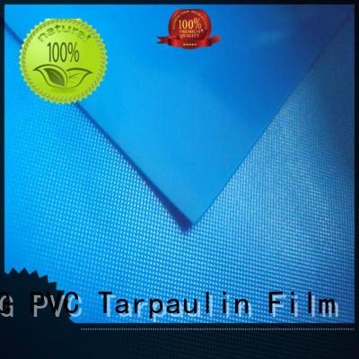 flexible packaging pvc film roll waterproof weather ability LIN-YANG