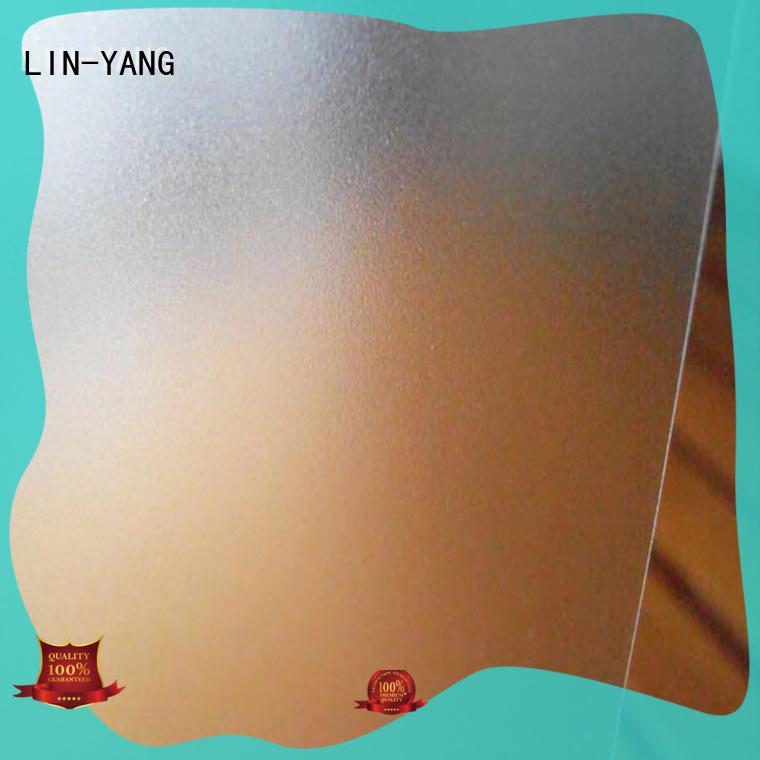Translucent PVC Film film for raincoat LIN-YANG