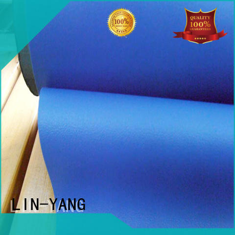 LIN-YANG decorative pvc film manufacturers supplier for indoor
