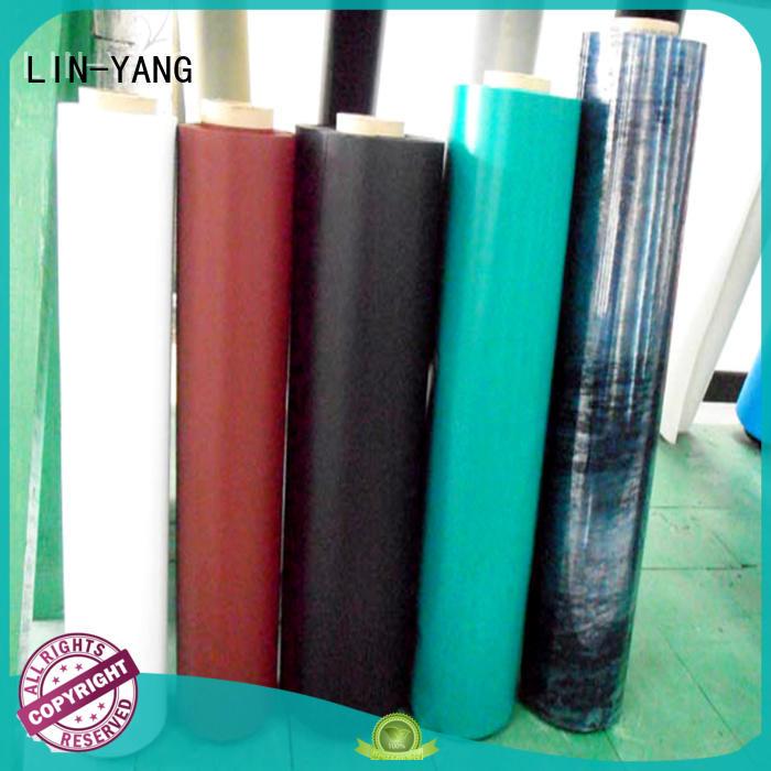low cost customized pvc plastic film LIN-YANG Brand