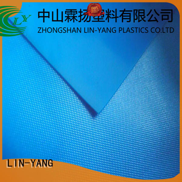 Custom antifouling rich pvc film roll LIN-YANG waterproof weather ability