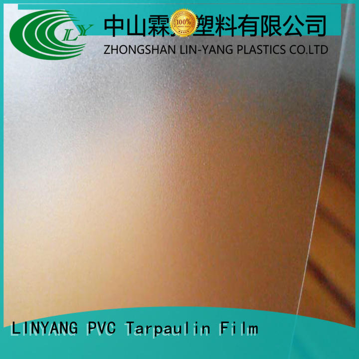 widely used Translucent PVC Film translucent personalized for plastic tablecloth