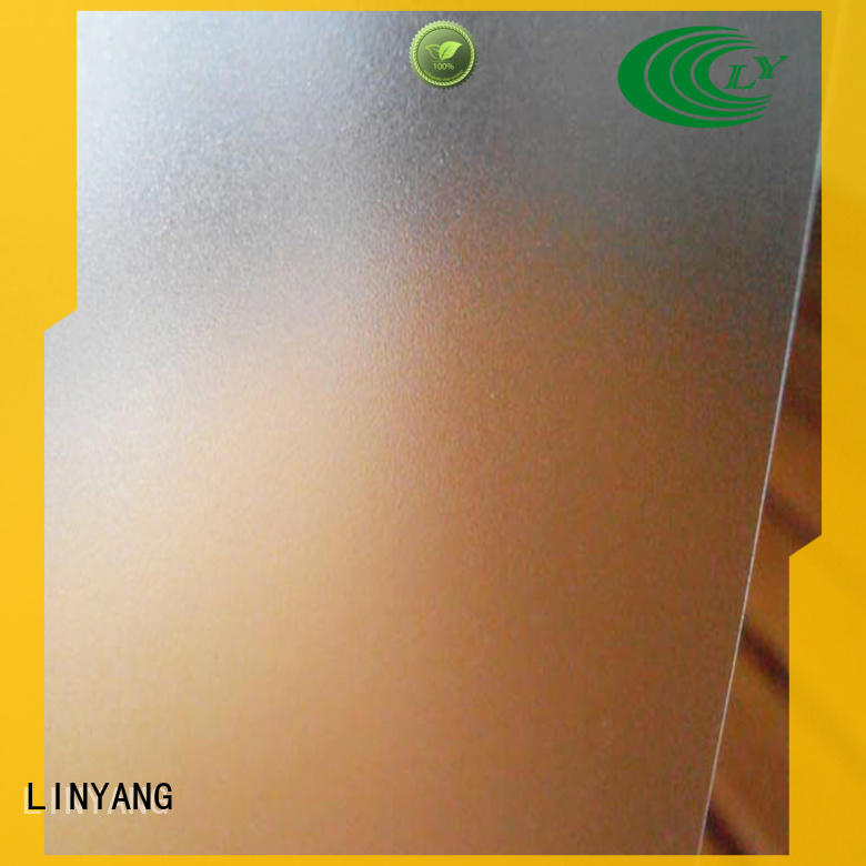 LINYANG widely used Translucent PVC Film personalized for raincoat