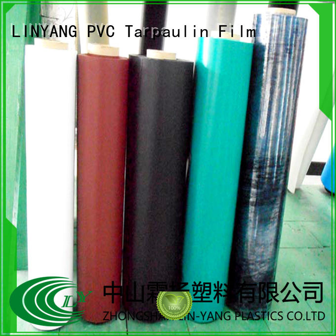 LINYANG good transparency inflatable pvc film with good price for inflatable boat