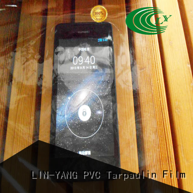 LIN-YANG pvc Transparent PVC Film customized for outdoor