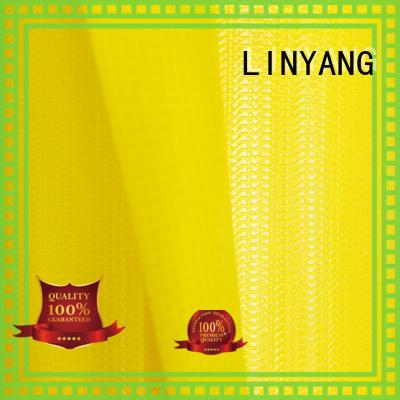 LINYANG pvc waterproof tarpaulin design for agriculture tarps