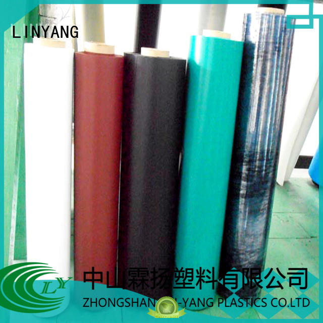 LINYANG good transparency Inflatable Toys PVC Film customized for aquatic park