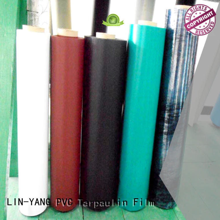 many colors Custom best price durable Inflatable Toys PVC Film LIN-YANG popular