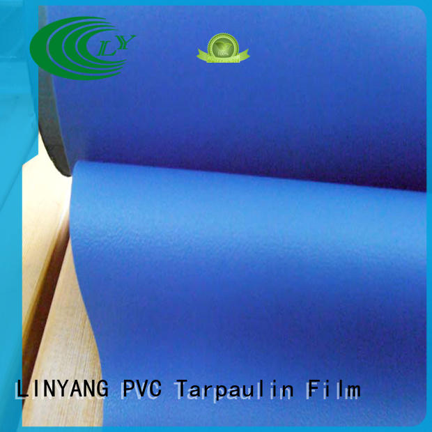 LINYANG semi-rigid Decorative PVC Filmfurniture film factory price for handbags