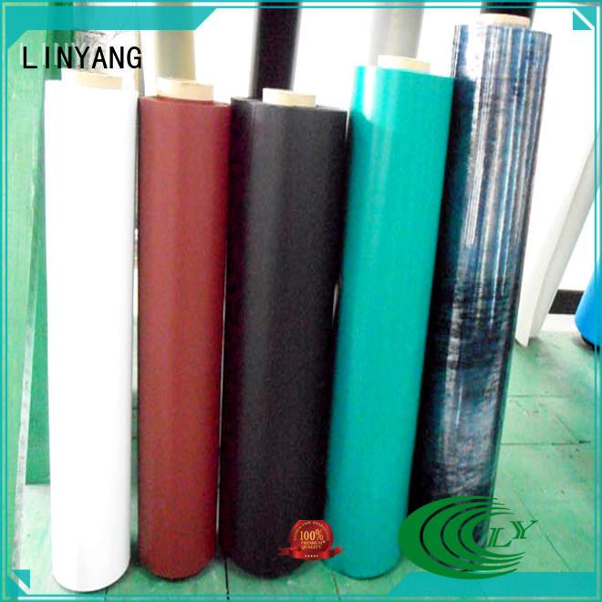 LINYANG antifouling inflatable pvc film customized for aquatic park