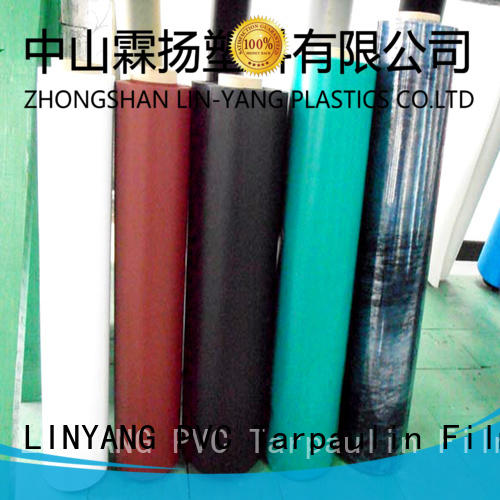 weatherability pvc plastic film film for inflatable boat LINYANG