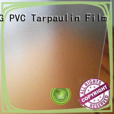 film Translucent PVC Film personalized for plastic tablecloth LINYANG