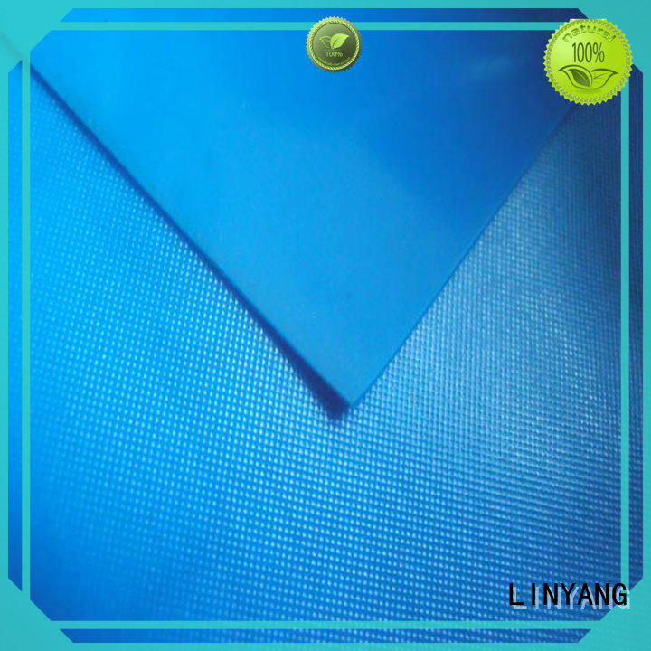 LINYANG anti-UV pvc film roll series for raincoat