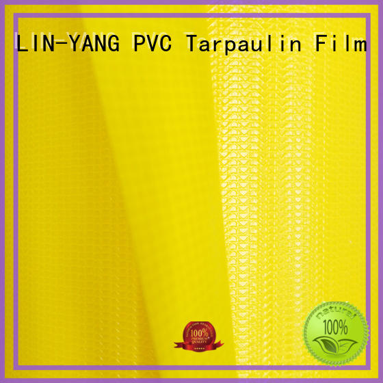 multi-purpose Cover pvc waterproof LIN-YANG Brand tensile membrane structure
