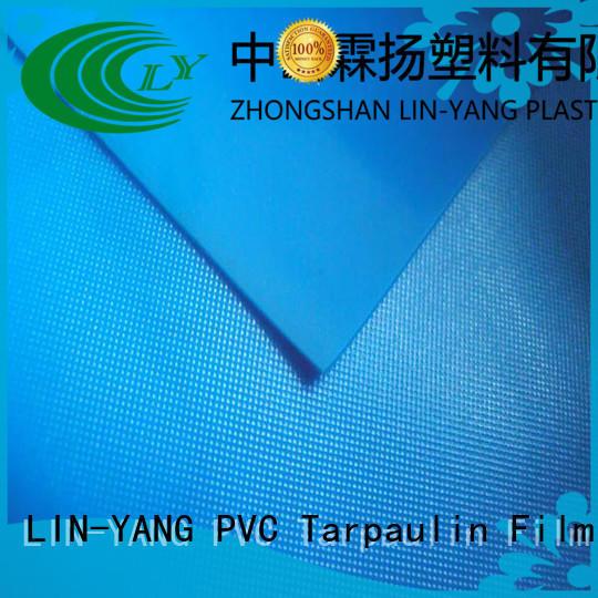 pvc film price antifouling waterproof weather ability LIN-YANG Brand company