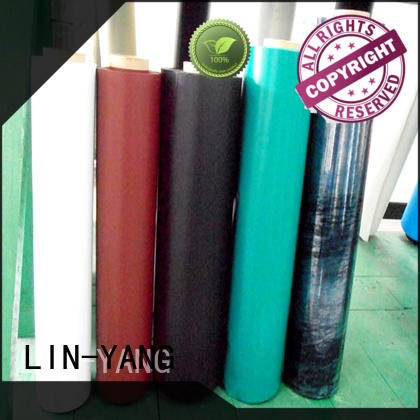 Quality LIN-YANG Brand pvc plastic film multiple extrusion colorful