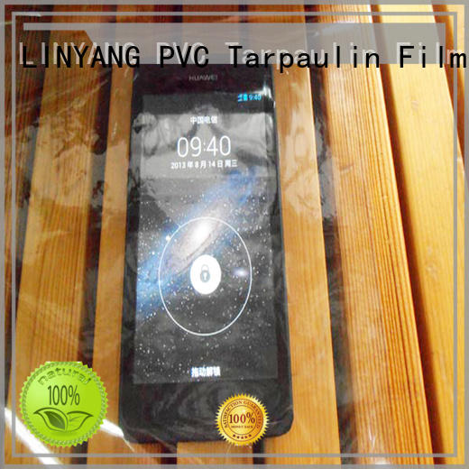 pvc transparent film pvc for industry LINYANG
