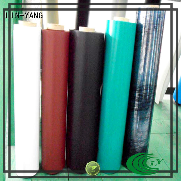 multiple extrusion pvc plastic film best price low cost LIN-YANG Brand