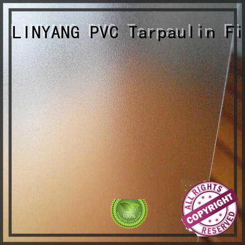 waterproof pvc film eco friendly inquire now for raincoat LINYANG