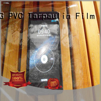 LINYANG anti-UV Transparent PVC Film wholesale for outdoor