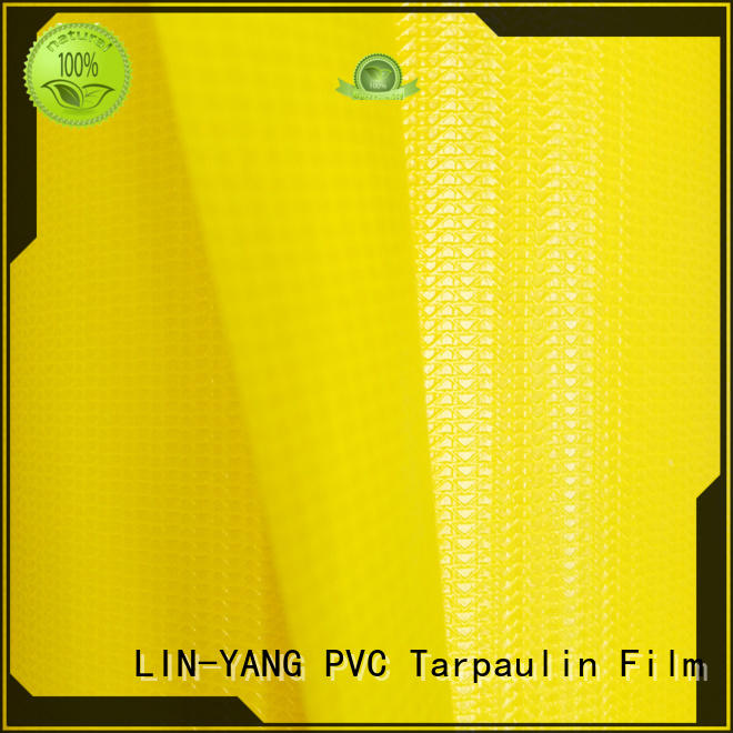 LIN-YANG Brand pvc tensile tear membrane structure building weather ability