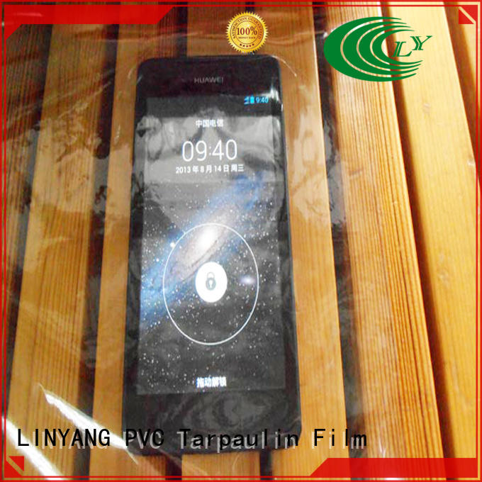 LINYANG transparent clear pvc film customized for agriculture