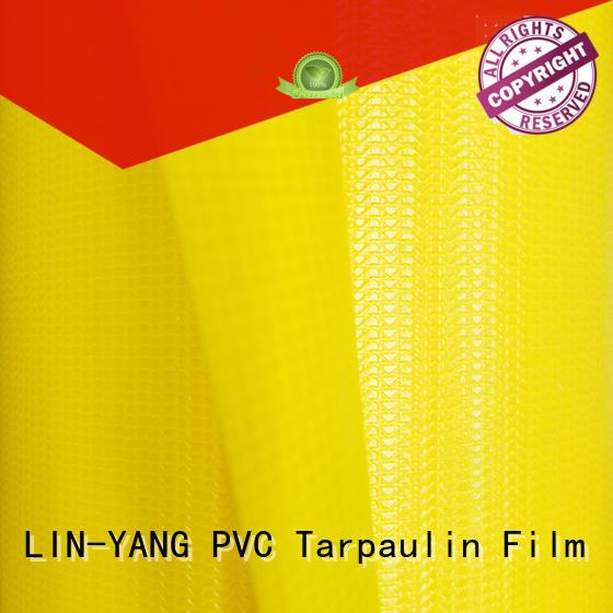 tarpaulin price resistant for advertising banner LIN-YANG