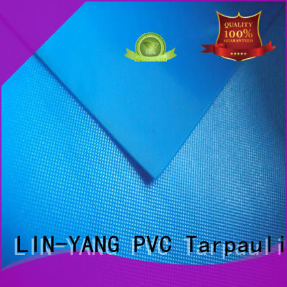 Wholesale packaging pvc film roll LIN-YANG Brand