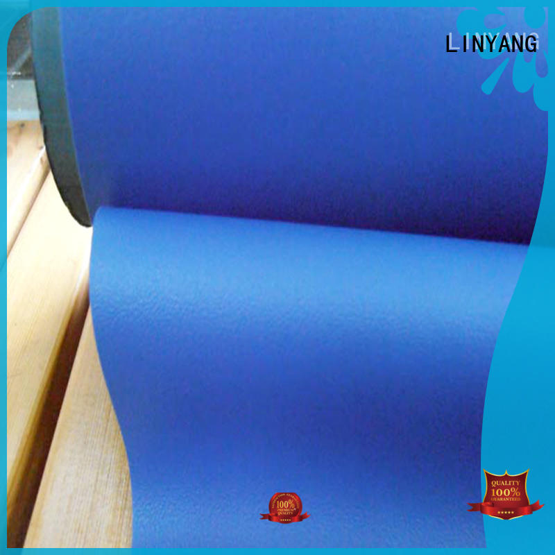 LINYANG pvc self adhesive film for furniture factory price for furniture