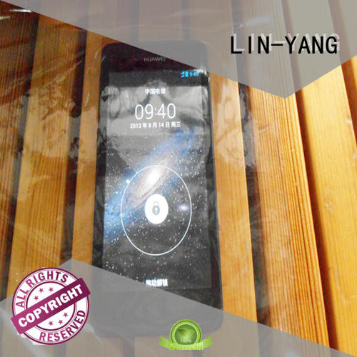 low cost pvc transparent film many colors popular LIN-YANG Brand
