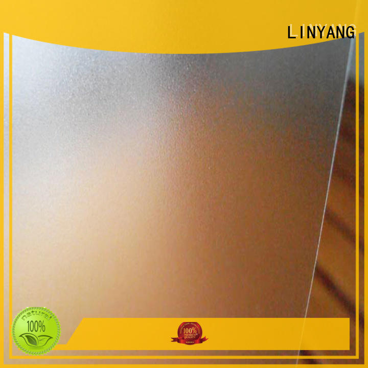 LINYANG widely used Translucent PVC Film directly sale for raincoat
