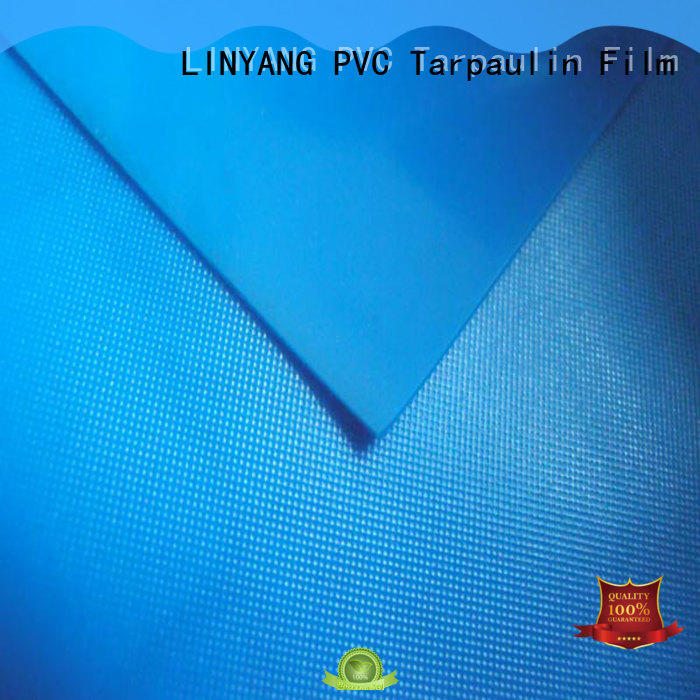 LINYANG weatherability white pvc film supplier for umbrella