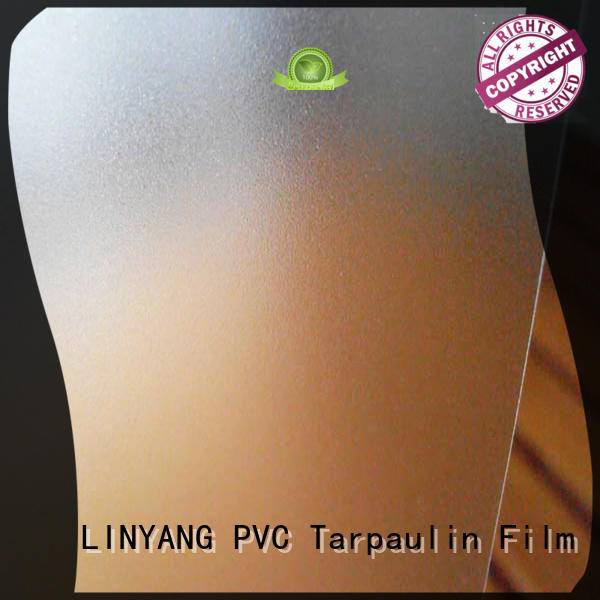 LINYANG durable pvc film eco friendly personalized for umbrella