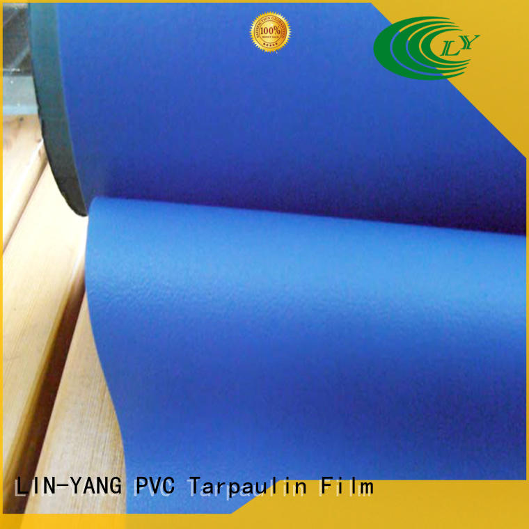 pvc film manufacturers anti-fouling waterproof rich LIN-YANG Brand