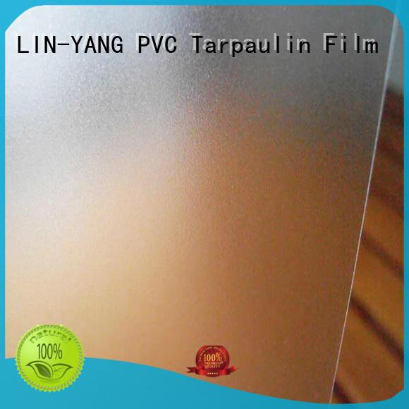 club Custom creative hotel Translucent PVC Film LIN-YANG anti-fouling