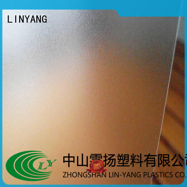 translucent pvc film eco friendly film from China for shower curtain