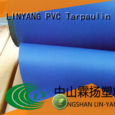 LINYANG film thick pvc film design for indoor