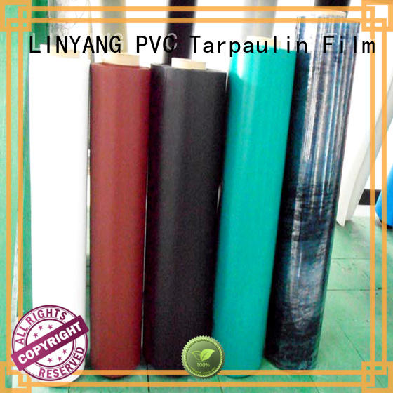 LINYANG hot selling pvc plastic film customized for outdoor