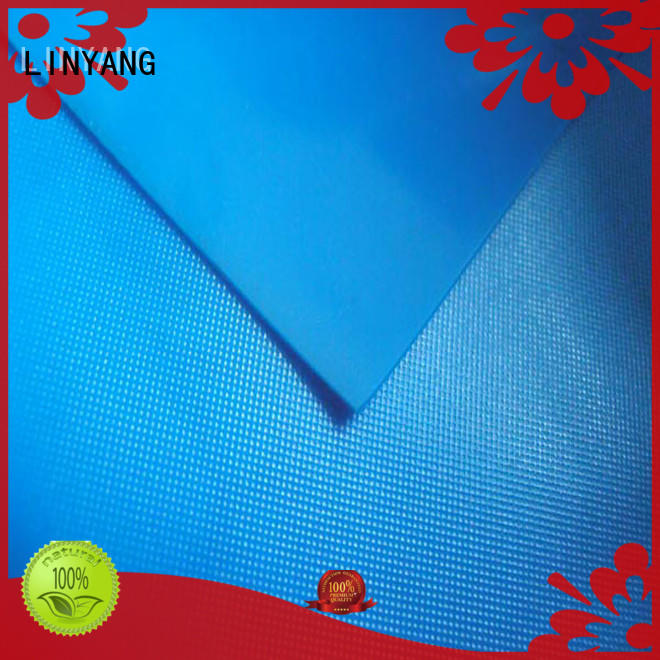 LINYANG waterproof pvc film roll supplier for raincoat
