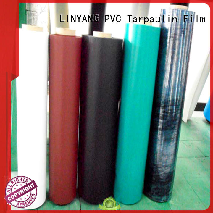 LINYANG antifouling inflatable pvc film factory for outdoor