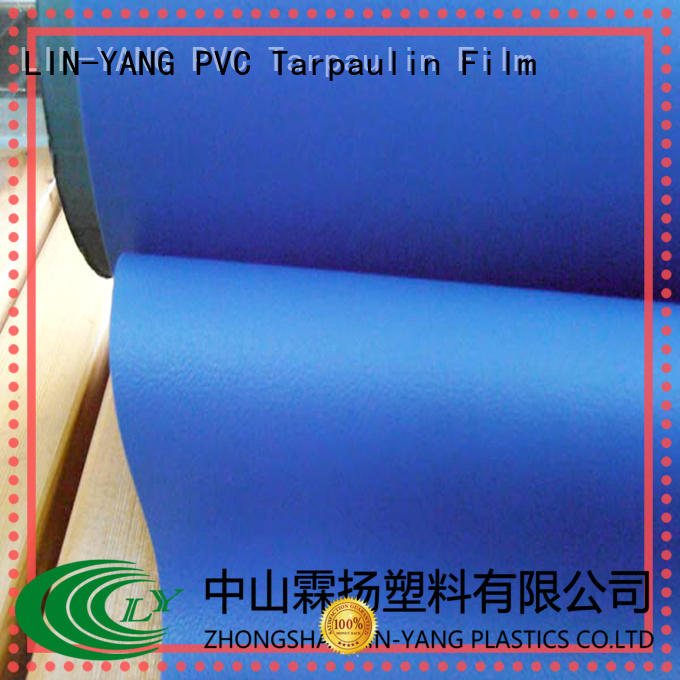 durable Custom waterproof Decorative PVC Filmfurniture film semirigid LIN-YANG