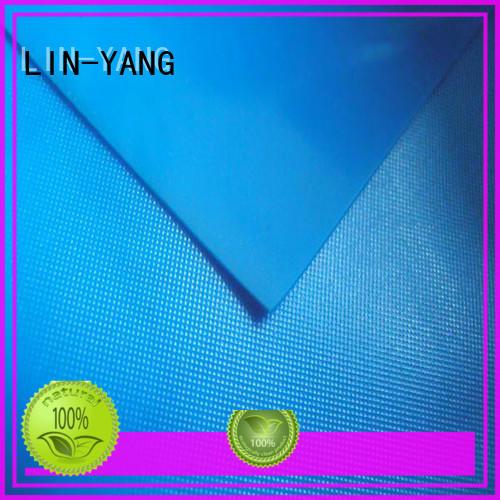 normal pvc film roll factory price for umbrella LIN-YANG
