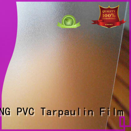 LINYANG durable Translucent PVC Film directly sale for raincoat