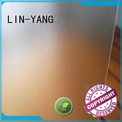 pvc pvc translucent film personalized for raincoat LIN-YANG