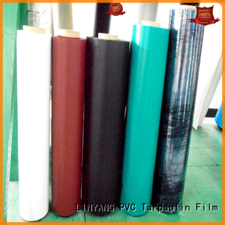 LINYANG finely ground pvc plastic film weatherability for swim ring