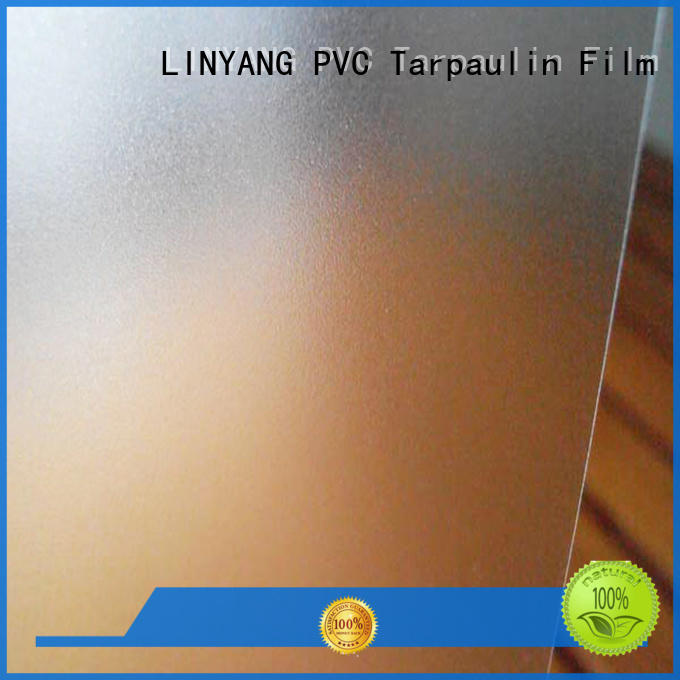 LINYANG pvc pvc film eco friendly directly sale for raincoat
