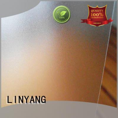 LINYANG translucent Translucent PVC Film manufacturer for plastic tablecloth
